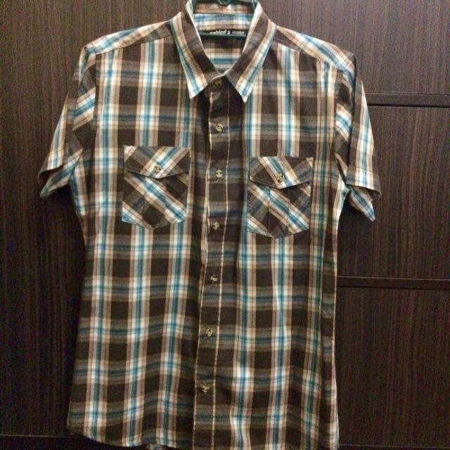 F&H Checkered Polo
