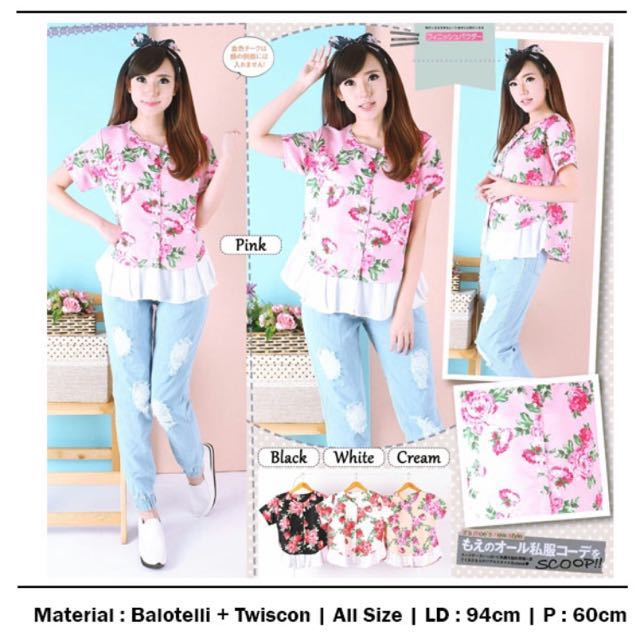 Flower top - only white