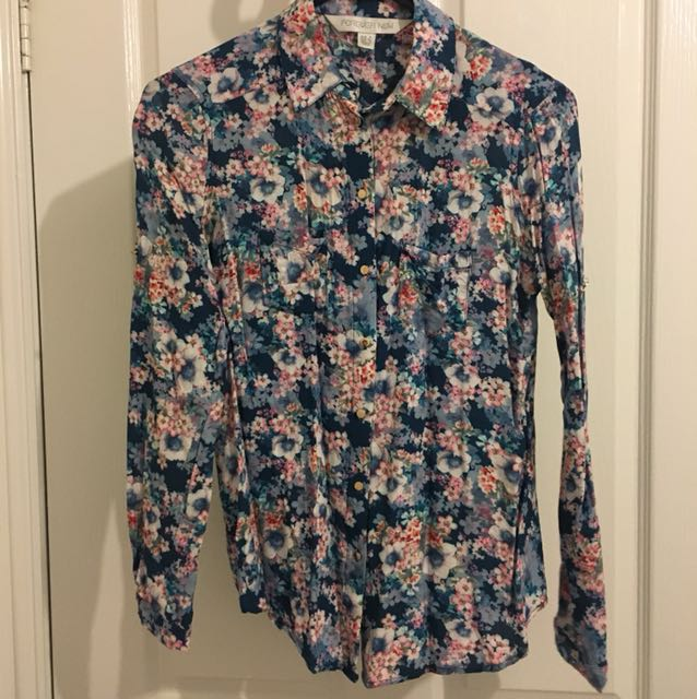 Forever New Floral Blouse - Size XS