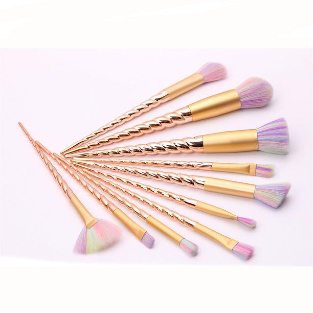 (Free Postage) unicorn mermaid brush makeup
