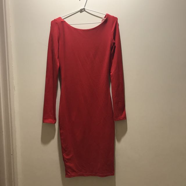 Glamazon The Label backless dress size 8