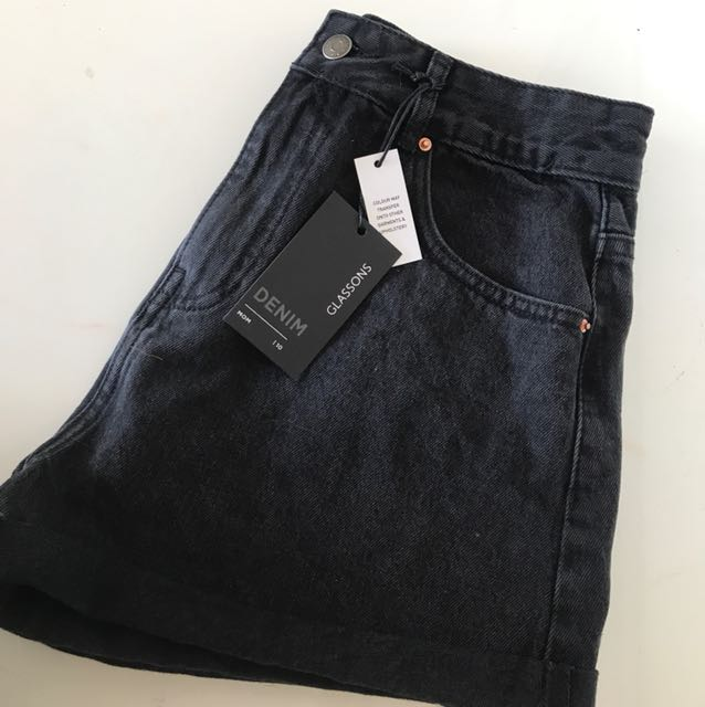 GLASSONS denim shorts size 10