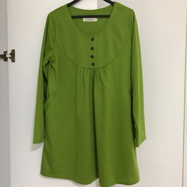 Green Top from Korea