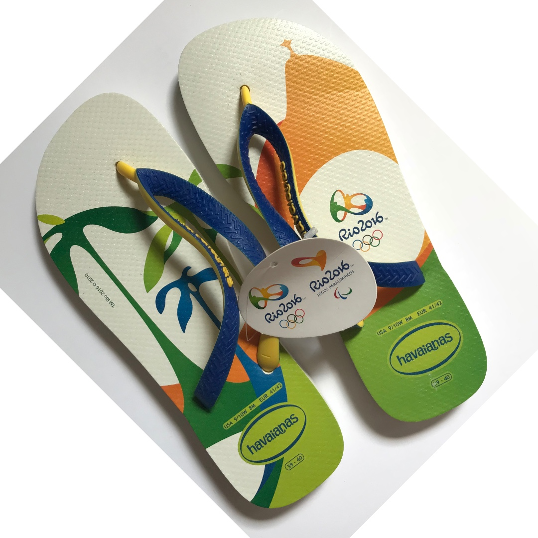 af33b9518dc Havaianas Slippers (Rio 2016 Olympic Games) Size  USA 9 10W 8M EUR ...