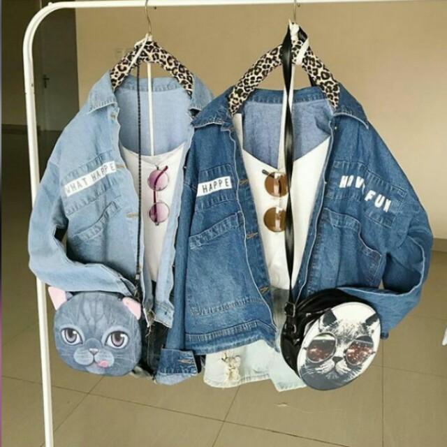 Have fun jacket (dark blue)