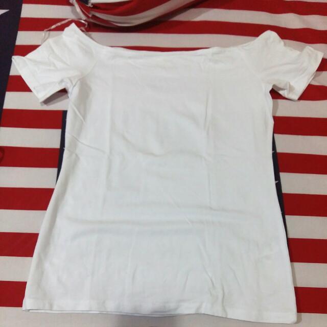 H&M White T Shirt