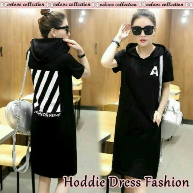 Hoodie Dress Fashion SM