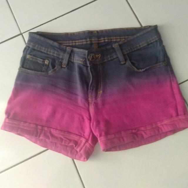 Hotpants Warna Warni