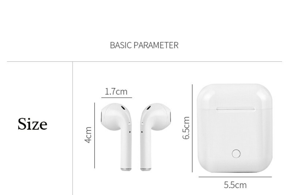 i9S TWS Stereo Airpods With Charging Case – Mainz Empire ...
