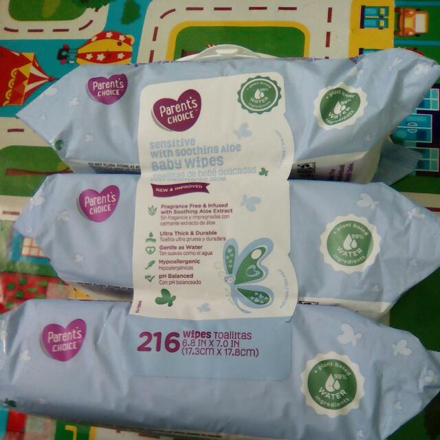 Imported , New 3packs Of Baby Wipes From America, P470