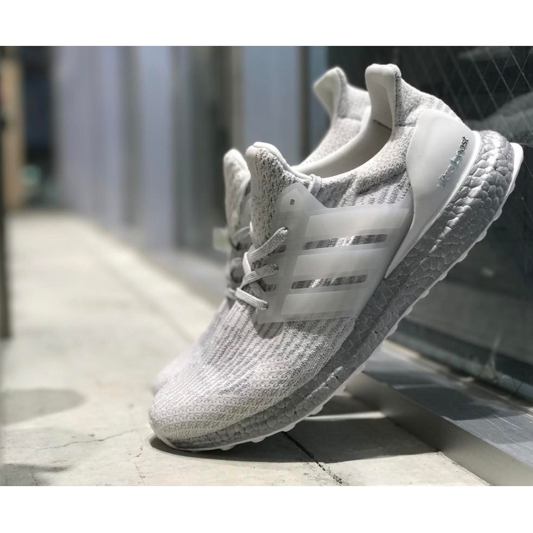 🔥In Stock🔥 UK10 Ultra Boost 3.0 Silver Midsole 0276e43afd
