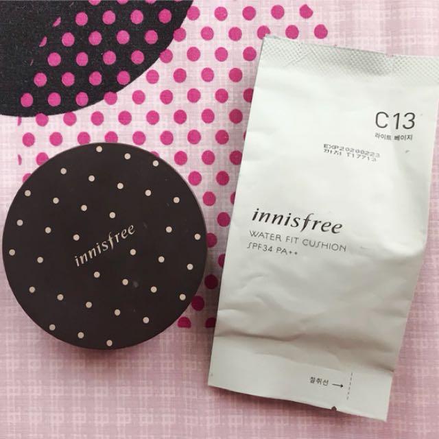 Innisfree waterfit cushion shade C13