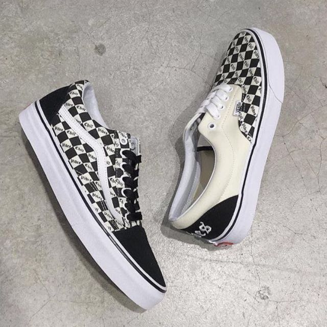 38469150454ab Instock] Vans x Chill Vibes Checkerboard Old Skool, Men's Fashion ...