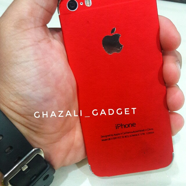 Iphone 5s 32gb Set J gold (wrap red) bd8e5ab0ba