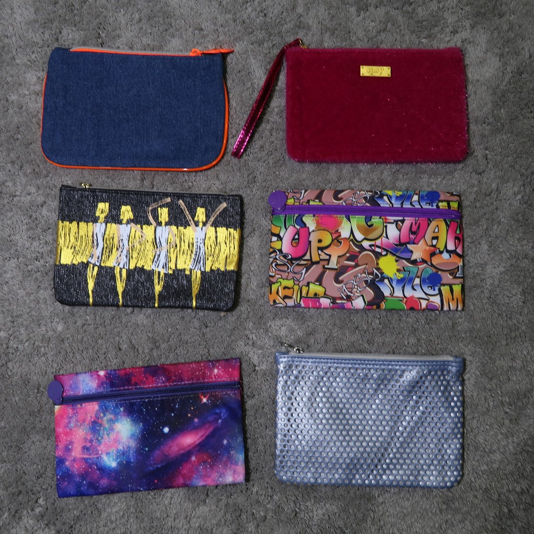 Ipsy Makeup Pouches