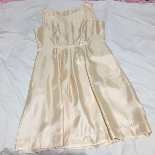 Jellybean Cream Dress