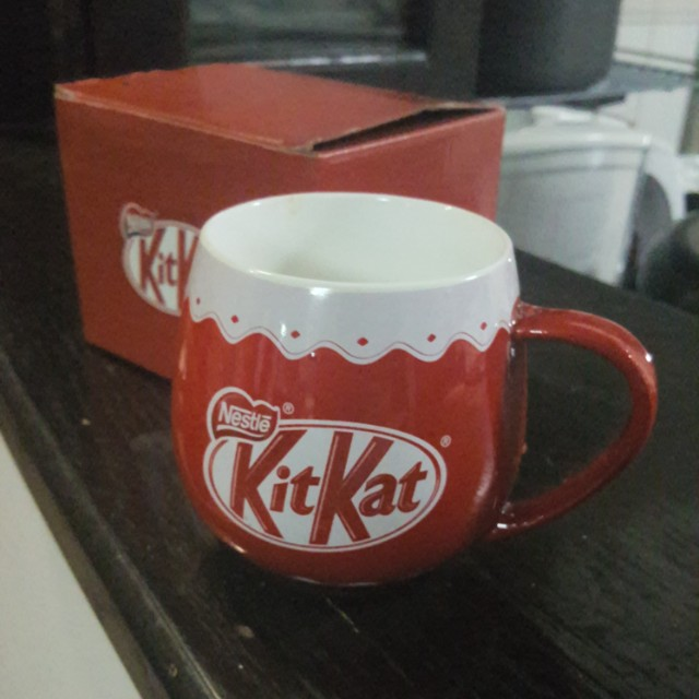 Kit kat coffee mug