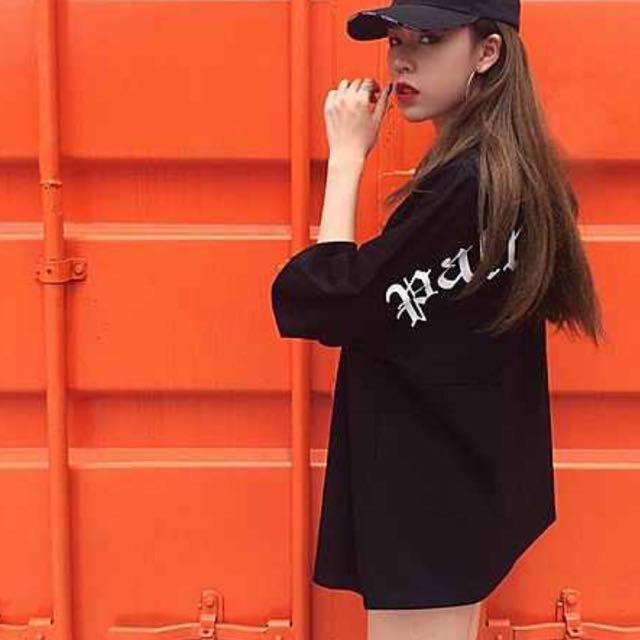 Korean Oversized Streetwear Top