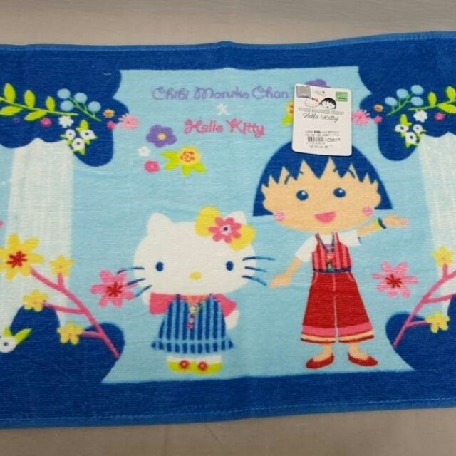 Kt&小丸子波西米亞毛巾