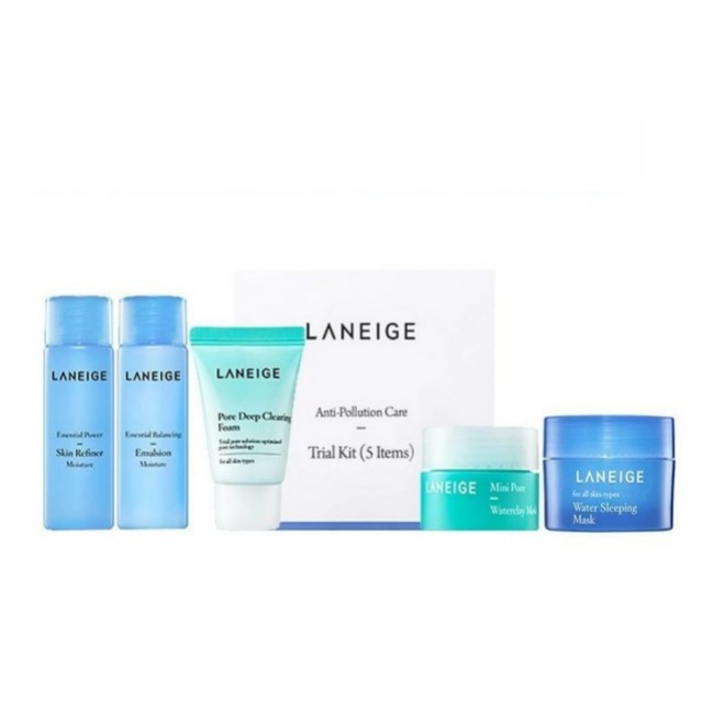 READY Laneige anti pollution kit (5 items)
