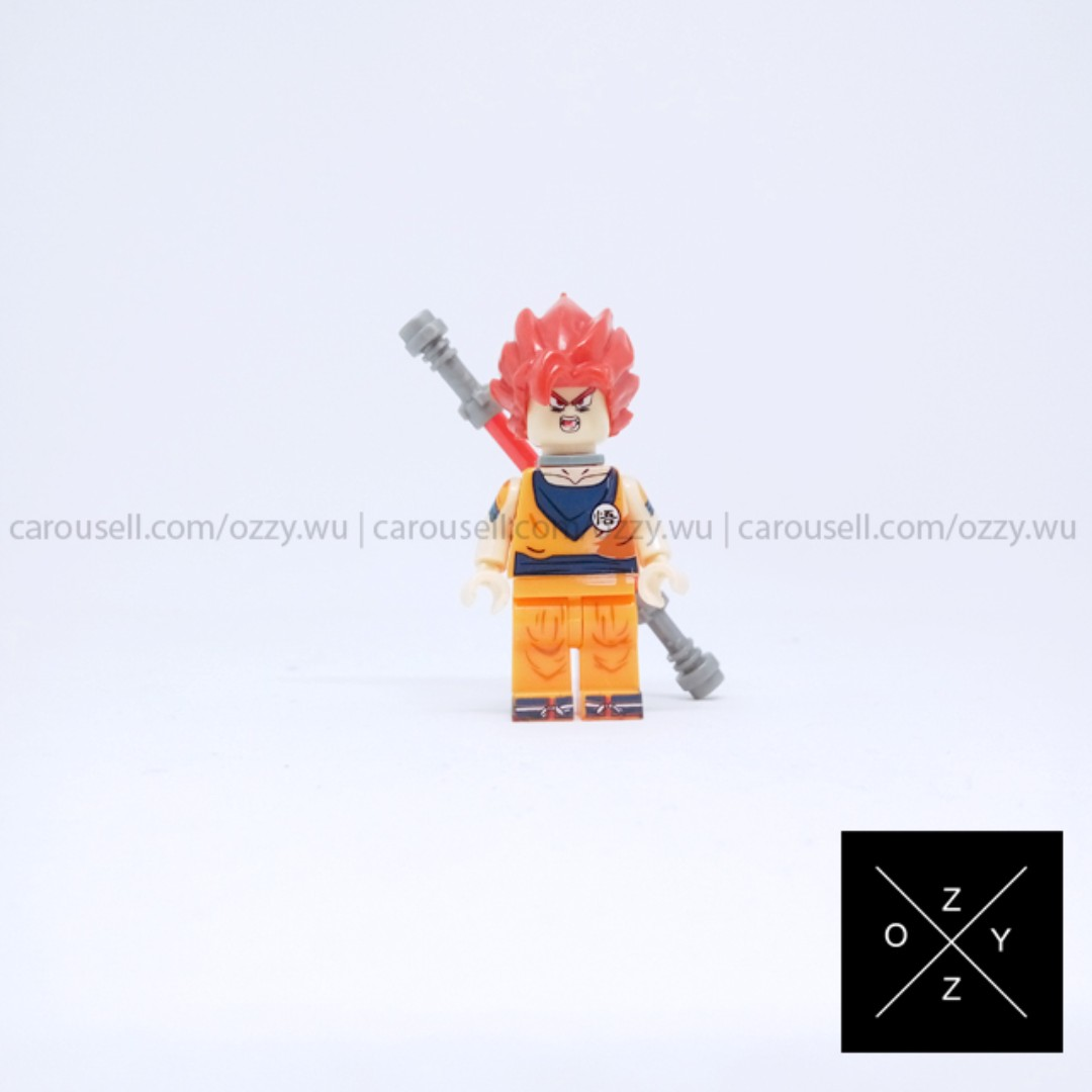 Lego Compatible Dragon Ball Minifigure - Goku