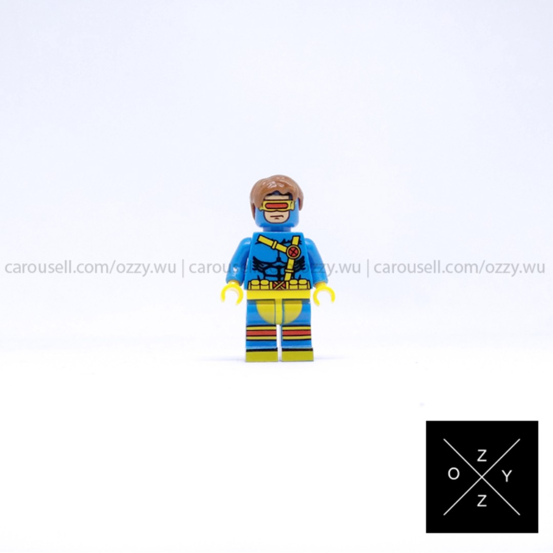 Lego Compatible Marvel Superheroes Minifigure - Cyclops