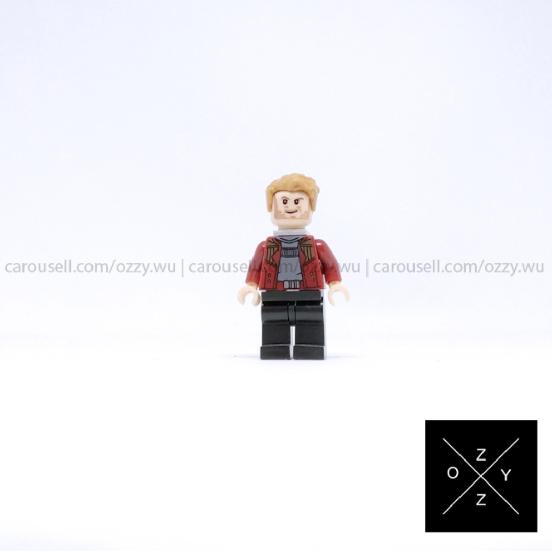 Lego Compatible Marvel Superheroes Minifigure - Star-Lord