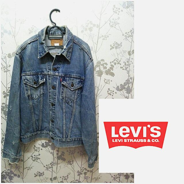 Levi's Ripped Jacket
