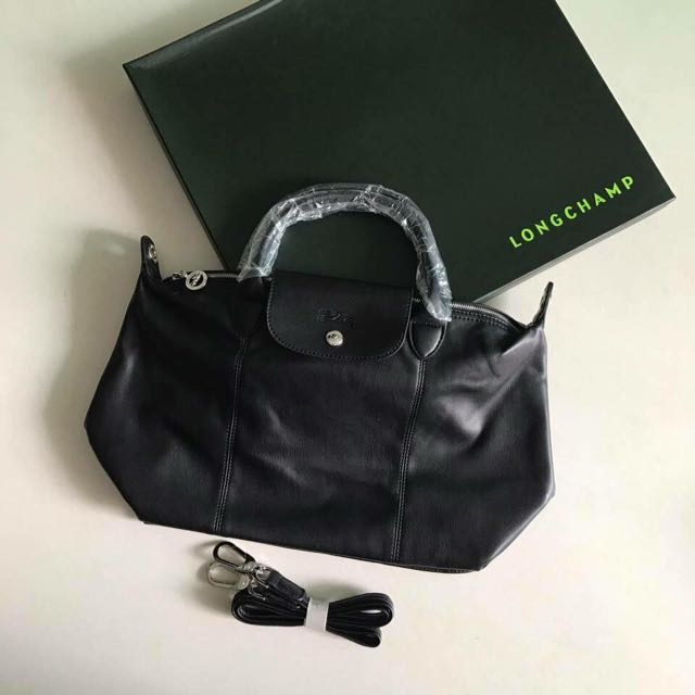 Limited edition longchamp cuir