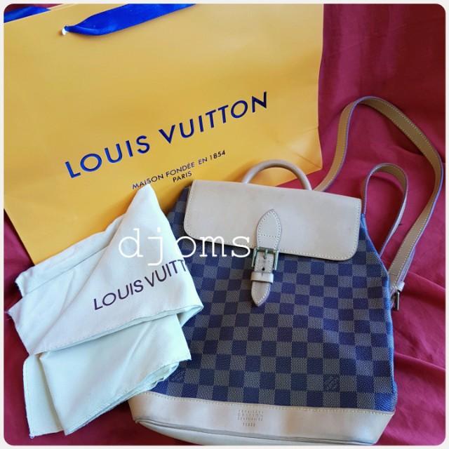 Limited edition Louis Vuitton Soho Centenaire damier lv backpack bag