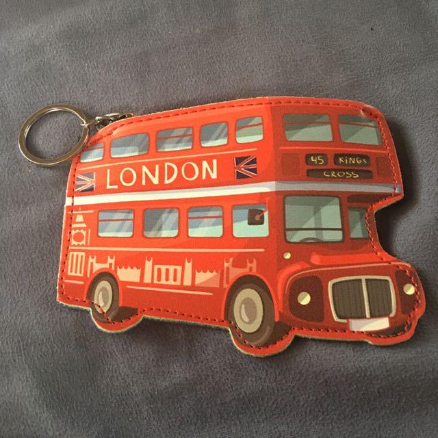 London Bus Coin Purse