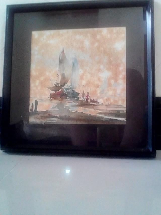 Lukisan Ukuran 28 cm x 28 cm