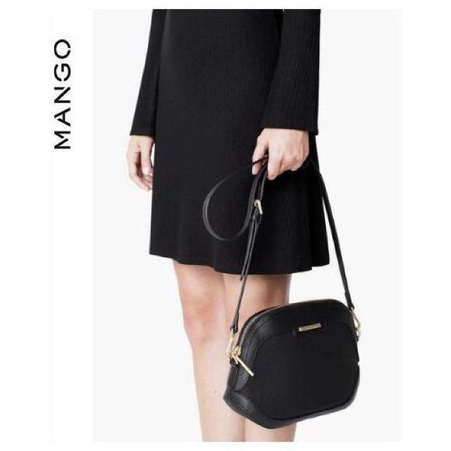 Mango Inspired pebbled crossbody sling bag