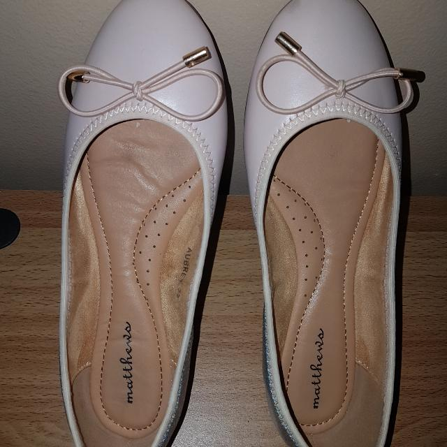Matthews Nude Pink Doll Shoes