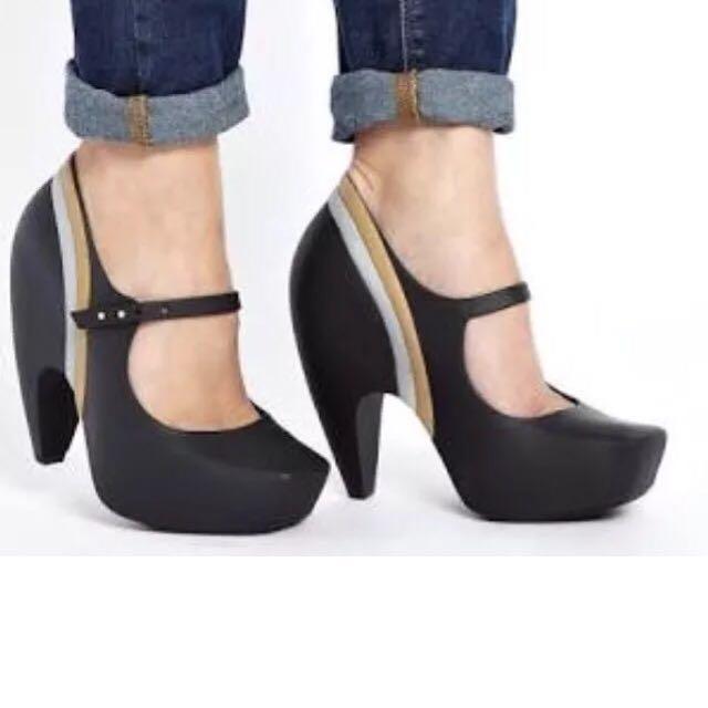 Melissa + Karl Lagerfeld heels