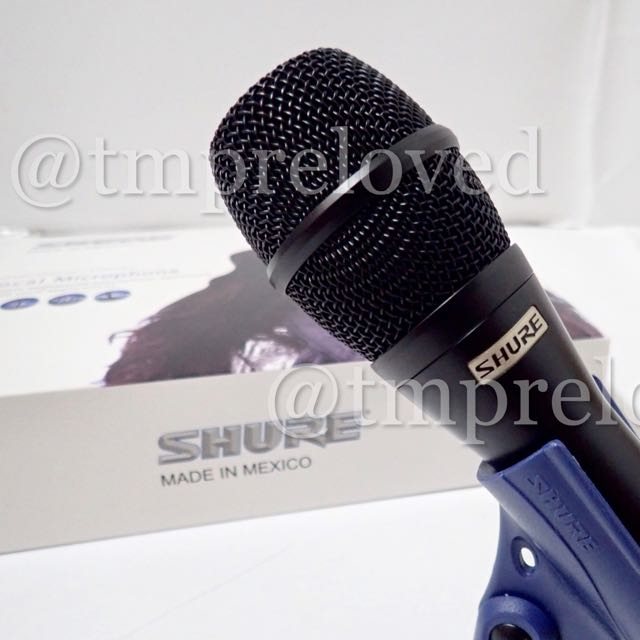 Mic Shure KSM 9 Grade A Wire Vocal Microphone