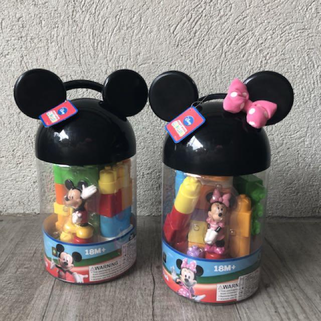 Mickey / Minnie Blocks like Duplo