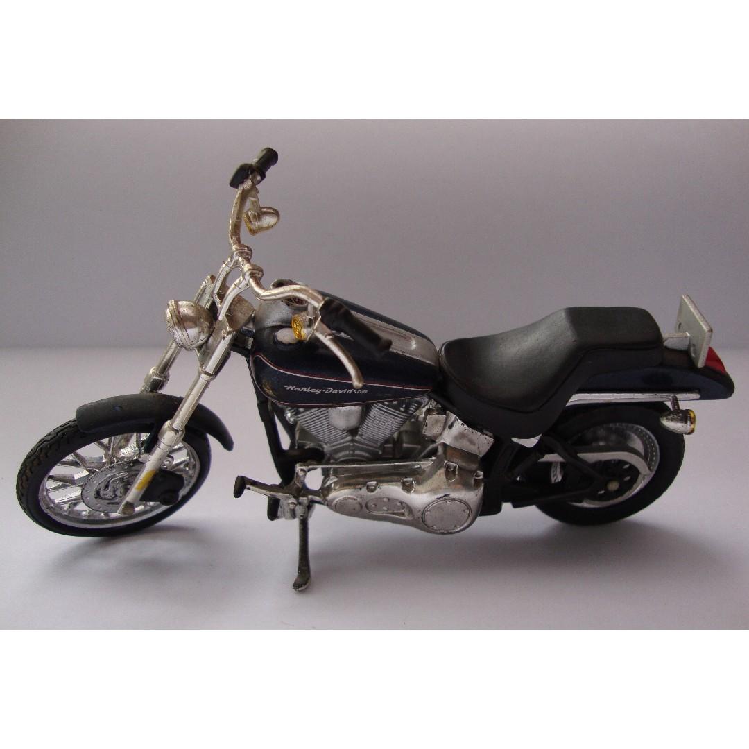 Miniatur Harley Davidson Black Navy