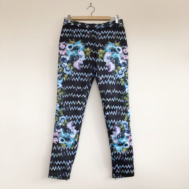 Mossman neoprene pattern pants