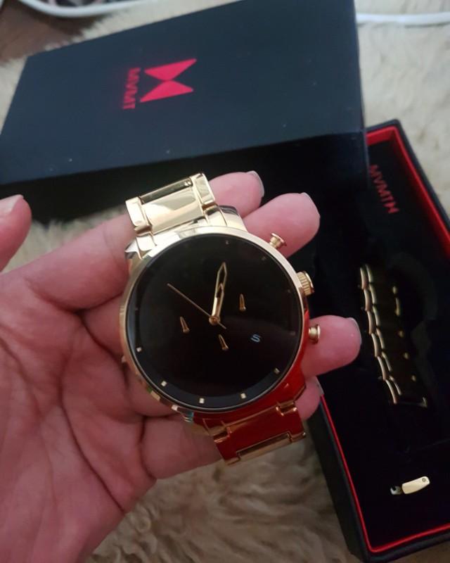 MVMT wrist watch