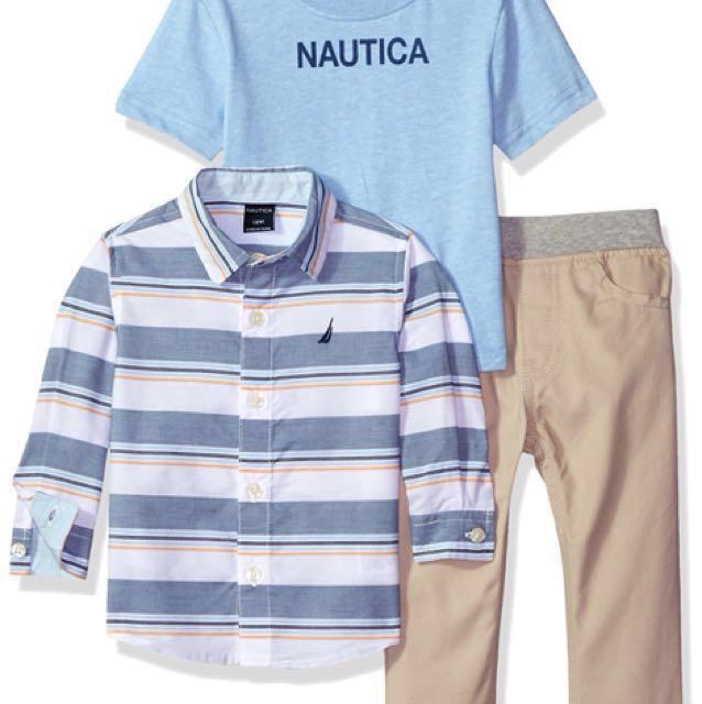 Nautica Baby Boy's Set