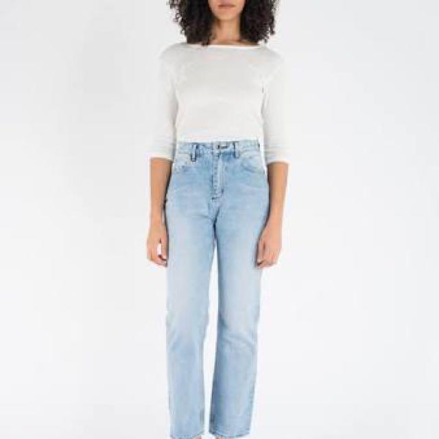 NEUW denim mom jeans