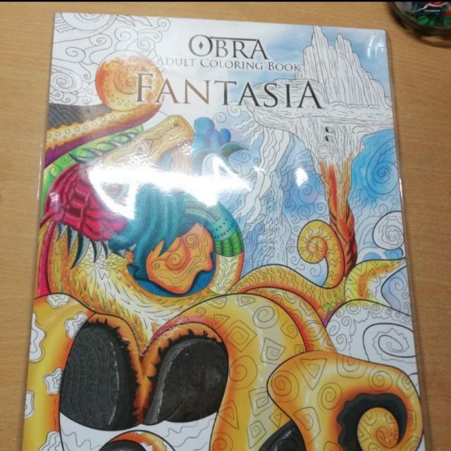 Obra Adult Coloring Book
