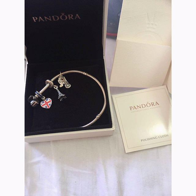 Pandora Bangle with Charm😍