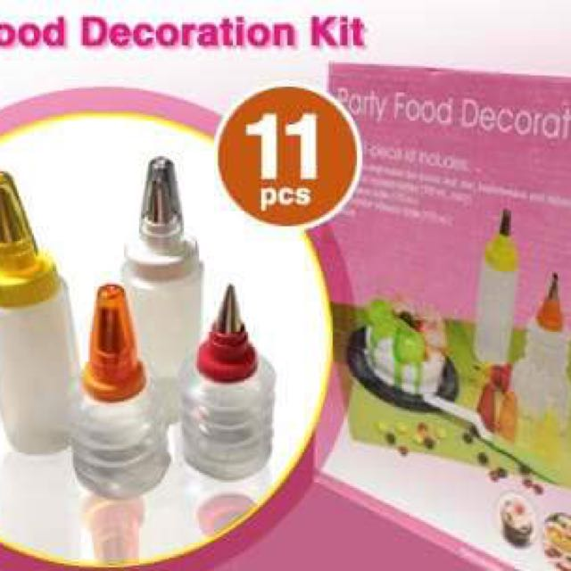 PARTY FOOD DECORATION KIT