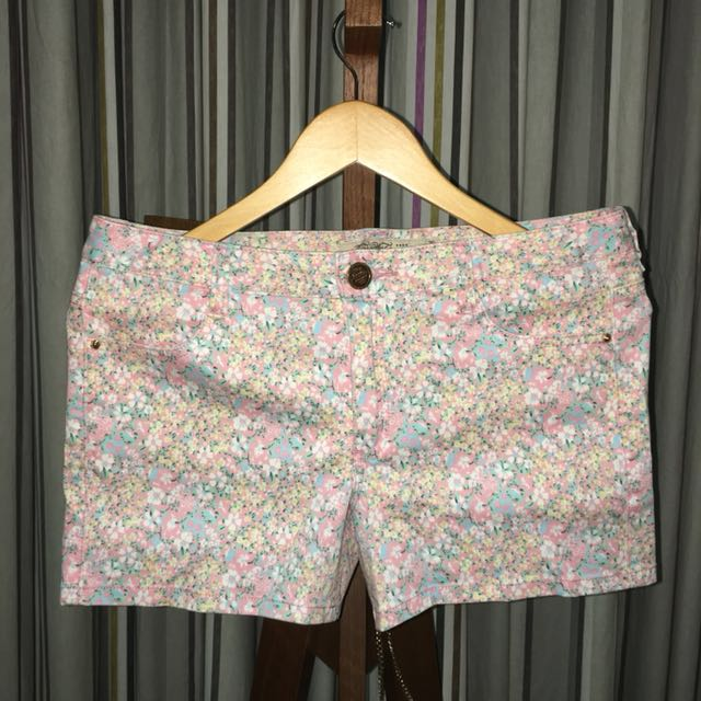 Pastel Flower Shorts