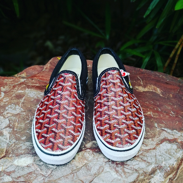 PO  Vans Slip-on x Goyard (Custom) ad434e77b