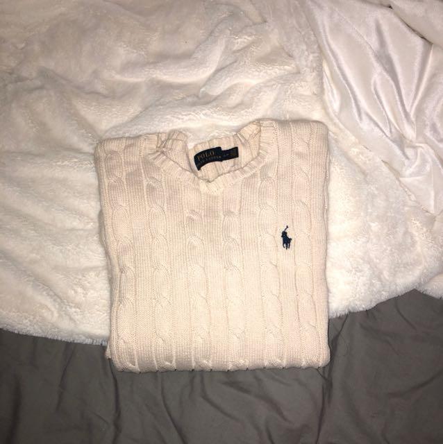 Polo long sleeve cardigan