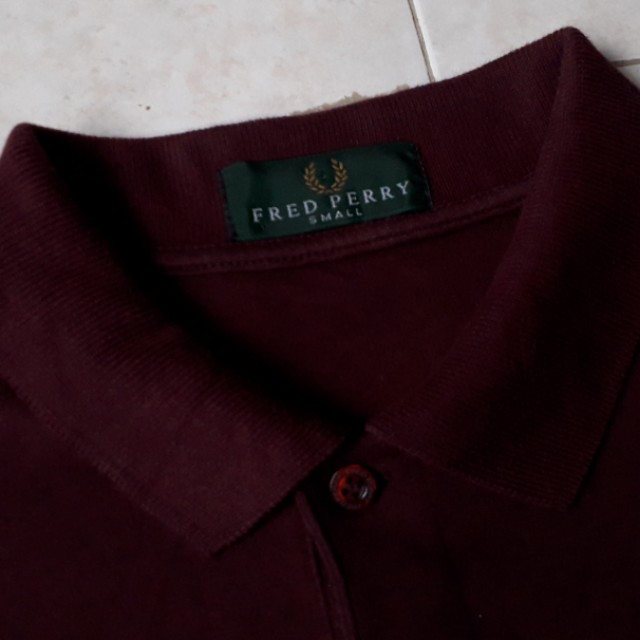 Portugal Fred Perry long sleeve