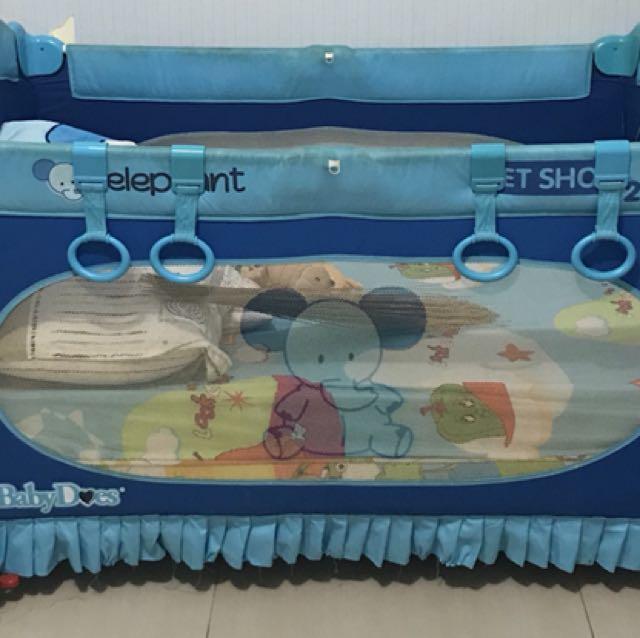 Preloved baby box merk baby does